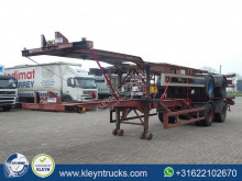 semi remorque Viberti 40 FT DOUBLE TYRES spring suspension