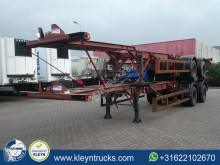 Ackermann FRUEHAUF 40 FT DOUBLE TYRES spring suspension semi-trailer