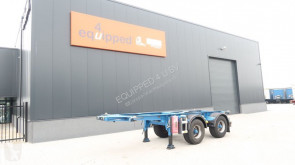 semi reboque Burg 20FT, BPW, ADR (EXII/EXIII/FL/OX/AT), NL-trailer, gewicht: 3.020KG