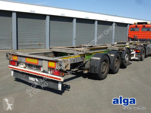 Voir les photos Semi remorque Schmitz Cargobull SCF 24, 2x20, 1x30/40/45 Fuß, vollverzinkt!
