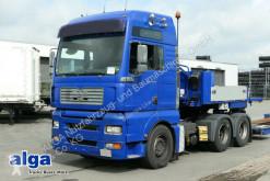Meusburger MAN 26.530 BLS TGA + Tiefbettauflieger 3-Achser semi-trailer