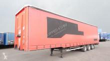 semirimorchio LAG Mega, sliding- + lifting roof, BPW, NL-trailer, timberstakes, hardwooden floor