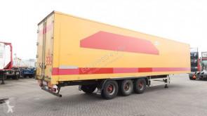 Groenewegen BPW, liftas, hardhouten vloer, volledig chassis, geld. keuring t/m 20/2/2020, 85% banden semi-trailer