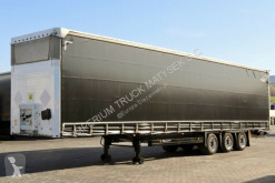 trailer Schmitz Cargobull CURTAINSIDER / VARIOS MEGA /LIFTED ROOF AND AXLE