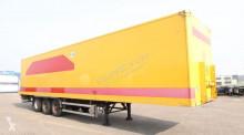trailer Groenewegen Double-Stock (68 Euro-Palletten) Koffer, voller Rahmen, 20 Balken, Liftachse, TÜV:10/2019