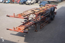 Pacton 10x Container chassis 2-assig/ 40ft. semi-trailer