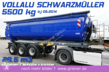 semi remorque Schwarzmüller ALUMULDE / THERMO 26,5 m³ / VOLLALU 5500 kg !!!!
