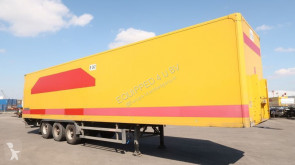 Groenewegen Double-Stock (68 Euro-Palletten), voller Rahmen, Liftachse, BPW semi-trailer