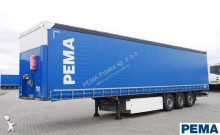 Schmitz Cargobull SCS Podnoszona os / Schmitz Tautliner Edscha Palettenstaukasten PEMA 100736 Auflieger