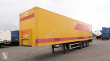 semirimorchio Groenewegen full chassis, double-stock (68 euro-pallets), BPW, liftaxle
