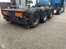 semi remorque Pacton TXC 343 - MULTI CONTAINER CHASSIS - 20/30/40/45ft GOOSENECK - 2X EXTENDABLE - 7X AVAILABLE!