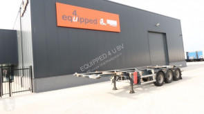 naczepa Groenewegen 20FT/30FT ADR-chassis, liftaxle, BPW, NL-trailer