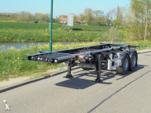 Pacton 9x 20FT Chassis / Unused - New / SAF / NL / APK / Ready to work ! semi-trailer