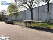 Fruehauf open laadbak 7.50 mtr Extendable, Steel suspension semi-trailer
