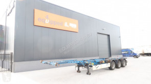 semi remorque Krone 40FT HC, 1x extendable (rear), empty weight: 5.400kg, NL-chassis, APK: 08/2019