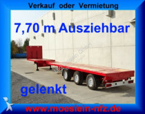 Doll P3H 3 Achs Tele Auflieger ausziehbar 21,30 m gel semi-trailer