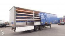 semi remorque Schmitz Cargobull Al. borden, gegalvaniseerd, BPW, NL-oplegger, APK 2/2020, huckepack, 80% banden