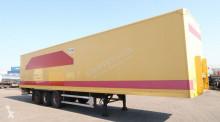 Groenewegen full chassis, liftaxle, hardwooden floor, BPW semi-trailer