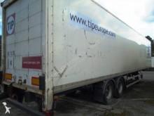naczepa furgon furgon drewniane ściany Asca