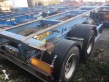 Asca PORTE CONTENER 20 PIEDS BITRAIN semi-trailer