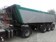 Meiller MHKS 41/3 24 m³ Alu Mulde Liftachse Trommelbremse semi-trailer