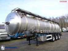 Magyar Chemical tank inox 33.9 m3 / 5 comp semi-trailer