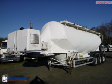 Feldbinder Powder tank alu 40 m3 + compressor semi-trailer