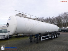Magyar Chemical tank inox 34 m3 / 1 comp semi-trailer