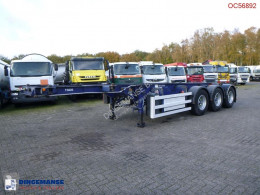 semi reboque SDC Container trailer 20-30 ft + pump