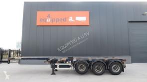 semirremolque D-TEC 45FT HC, 3x uitschuifbaar, liftas, BPW, NL-chassis