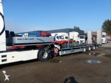 Fliegl heavy equipment transport semi-trailer