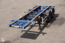 semi remorque Krone Container chassis 2-assig/ 20ft/ APK tot 28-09-2019