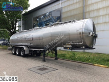 trailer Burg Chemie 37250 Liter, Holvrieka, Isolated tank, 1 Compartment, Steel suspension