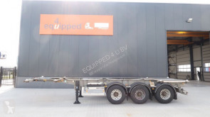semi remorque Van Hool ADR, verzinkt, BPW, 20FT/30FT, NL-trailer, APK/ADR: 04/2020