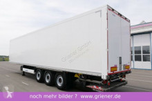 semirimorchio Krone SD 27/ ISOLIERTER KOFFER DOPPELSTOCK LBW 2000 kg