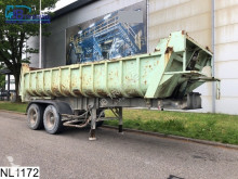 trailer Fruehauf kipper Steel suspension, Steel chassis and steel loading platform