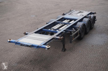 Burg Container chassis 30ft, 20ft/ APK tot 08-09-2019 semi-trailer