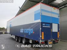 semirremolque Van Eck PT-3LNN Liftachse Doppelstock Mega Aircargo-Luftfracht-Rollenbett