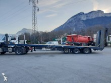 Leveques Plateau incliné porte-engins semi-trailer