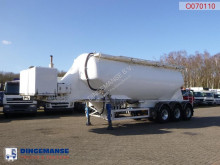 trailer Feldbinder Bulk tank alu 36 m3 / 1 comp + engine/compressor