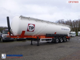 Feldbinder Powder tank alu 63 m3 / 1 comp semi-trailer