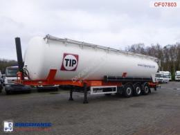 полуремарке Feldbinder Powder tank alu 63 m3 / 1 comp