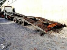 semirimorchio trasporto macchinari Montenegro