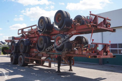 Ackermann Container chassis 2-assig/ 40ft./ Full Steel semi-trailer