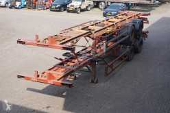 semi remorque Fruehauf Container chassis 2-assig/ 40ft./ Full Steel
