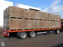 Van Hool flatbed trailer