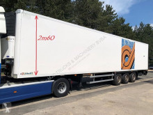Lamberet SAF - 2m47 x 2m60 + CARRIER VECTOR 1800 Mt - FULL CHASSIS - DISC BRAKES - NICE CONDITION semi-trailer