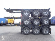 semiremorca Broshuis TOP: 20 FT, 3 axles, ADR (valid 02/2020), weight: 3.640KG, valid MOT till 2/2020