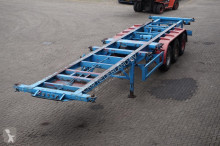semirimorchio Blumhardt Container chassis 3-assig/ 40ft./ 2x20ft.
