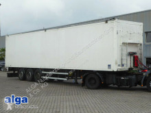 Knapen K 100, 92m³, 10mm Boden, Plane, Scheibe, Lift semi-trailer
